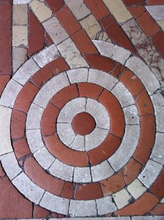 floor in Duomo Cathedral, Spoleto, Italy