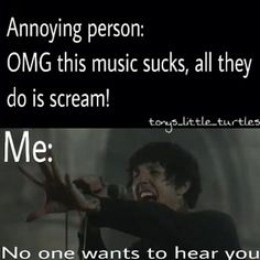 Omg true Go to Hell for Heaven's Sake by: Bring Me the Horizon