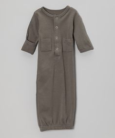 gray infant gown $11.99 ... my FAVE baby gown for newborns! we loved this!