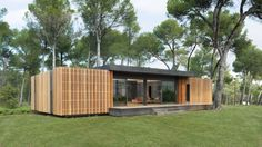 This Lego-style home can be built in a few weeks with just a screwdriver