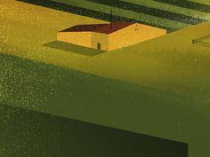 Under construction: A house #illustration #design #inspiration