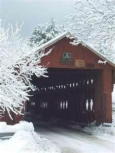 covered bridge northfield, vt