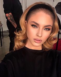 hairstyles for long faces thin hairstyles with bangs hairstyles for guys thin hairstyles thin hairstyles male thin hairstyles hairstyles short hairstyles for over 50 Flawless Makeup, Glam Makeup, Pretty Makeup, Gorgeous Makeup, Beauty Makeup, Makeup Looks, Hair Beauty, Curly Hair Styles, Natural Hair Styles