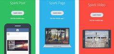 Spark. Outil trois en un pour la narration visuelle d'Adobe