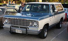 1972 Dodge Ramcharger 1978 dodge ramcharger suv