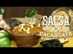 ¿Cómo preparar Salsa de Cacahuate?- Cocina Fresca - YouTube
