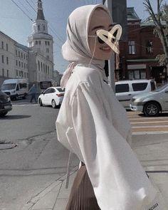 Modest Fashion Hijab, Modern Hijab Fashion, Casual Hijab Outfit, Hijab Fashion Inspiration, Hijab Chic, Muslim Fashion, Minimal Fashion, Fashion Outfits, Niqab