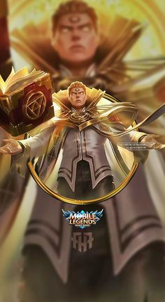Wallpaper Phone Estes Holy Priest by FachriFHR on DeviantArt Holy Priest, Moba Legends, Mobile Legend Wallpaper, 4k Hd, New Skin, Mobiles, Game Art, Anime Characters, Bang Bang