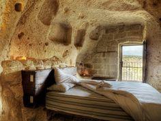 'Le Grotte della Civita', a project in the ancient Sassi di Matera, Basilicata (Italy)