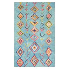 nuLOOM Belini Indoor Area Rug - The handsome Moroccan design on this nuLOOM Belini Indoor Area Rug adds an exotic flair that enhances your bohemian vibe. This hand-tufted viscose and...
