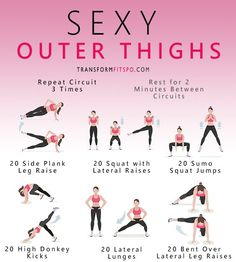 Repin and share if you enjoyed this sexy thighs workout!