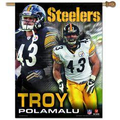 NFL Pittsburgh Steelers Troy Polamalu