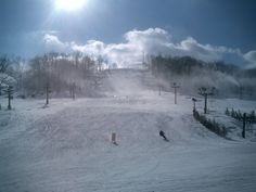 Lawrenceburg, IN: Perfect North Slopes right off of 275 great fun in the cold weather