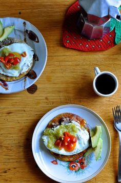 Huevos Rancheros wit
