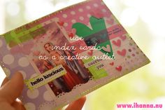 Use an Index Cards as postcards - idea by @ihanna #indexcard #mailart