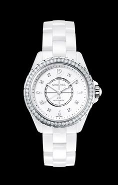 CHANEL - J12 JEWELRY Watch White Collection - H3111