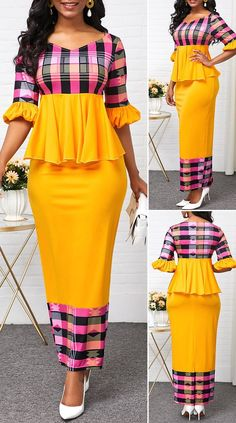 African Dresses For Kids, African Wear Dresses, Latest African Fashion Dresses, African Attire, Outfits Dress, Sexy Dresses, Pretty Dresses, Beautiful Dresses, African Fashion Traditional