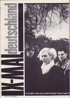 X-Mal Deutschland, 1983