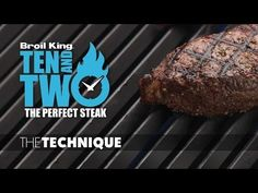 Say goodbye to crossing your fingers and hello to confidence.  Ten and Two - The Best Technique for the Perfect Steak.