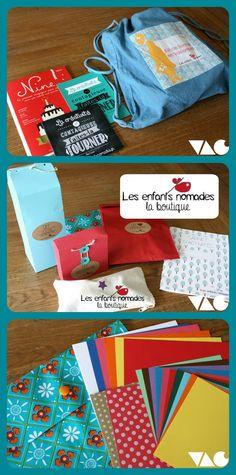 VAC  (le vide-atelier des créatives)  :  Les enfants nomades (box créative)