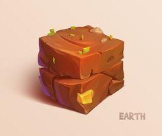 Earth cube by Firrka.deviantart.com on @deviantART