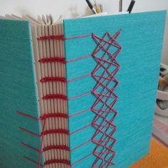 Coptic binding - creativeartscrap's photo on Instagram