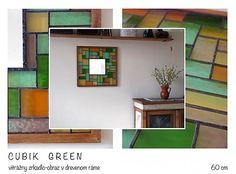 CUBIK GReeN My Arts, Shelves, Mirror, Green, Shop, Handmade, Furniture, Home Decor, Shelving