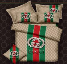 Gucci Bed Set- egyptian cotton  http://www.fierceheelsemporium.com.au/collections/bed-throws-blankets/products/gucci-bed-set