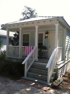 Vintage Beach Cottage in Old Seagorve Beach, FL, just off scenic 30A. Rental via VRBO.