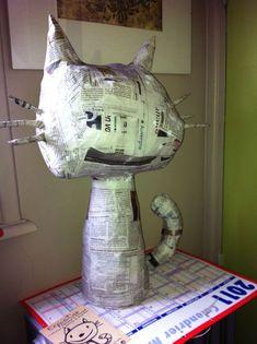 chat en papier                                                                                                                                                                                 Plus