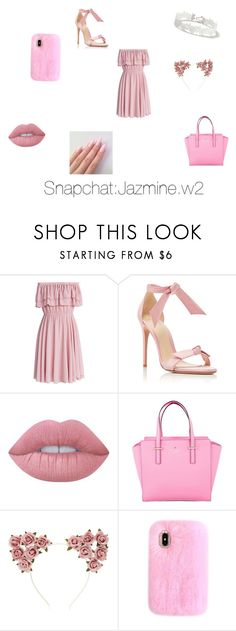 """""""Untitled #8"""" by wjazmine878 on Polyvore featuring Chicwish, Alexandre Birman, Lime Crime, Kate Spade, Forever 21, Miss Selfridge, cute, contest, contestentry and polyvorefashion"""