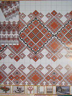 Cross stitch Pattern Ukrainian Embroidery Wedding Towel Rusnyk Napkin Pillow 4 r