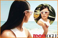 Miranda Cosgrove's Teen Vogue Magazine Issue Arrives On Store Shelves