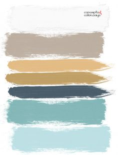 turquoise and gold paint palette - Before After DIY Living Room Turquoise, Teal Living Rooms, Bedroom Turquoise, House Of Turquoise, Bedroom Colour Palette, Blue Colour Palette, Bedroom Colors, Gold Palette, Taupe Color Palettes