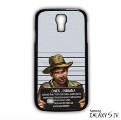 indiana jones mugshot for Samsung Galaxy S3/4/5/6/6 Edge/6 Edge Plus phonecases