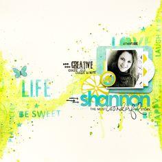 Scrap Plaisir shannon91: Tournoi Lime Citron #7 : Shannon