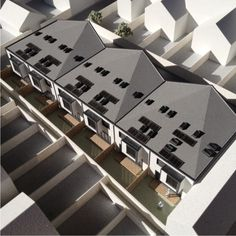 Architectural Model for a new residential development.