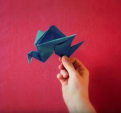 Um passo a passo para um origami super divertido inspirado em Kubo e as Cordas Mágicas!