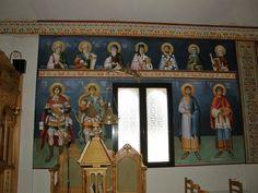 Themis Petrou - Τhree Prelates Chapel (athens, Greece) - Find Creatives Saint Anthony Church, Church Interior Design, Byzantine Icons, Nashville Tennessee, Athens Greece, Saints, Scene, Creative, Projects