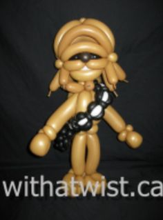Balloon Chewbacca from Star Wars