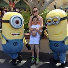 """I wanted to share this beautiful picture of my son, Fabian, who is diagnosed with autism. He loves Minions and his birthday present was to visit Universal Studios, Hollywood.  As you can see he had a blast!"" Facebook name: Amneris Perez Rivera"