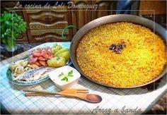 Viajamos hasta la costa de Alicante para disfrutar de la receta el arroz a banda