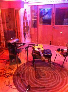 Recording in Eastcote studio in London