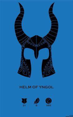 Skyrim Helm of Yngol by Emma Shea