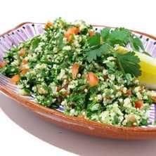 Tabbouleh Lunches And Dinners, Cobb Salad, Veggies, Gluten Free, Healthy, Food, Hands, Bulgur, Glutenfree
