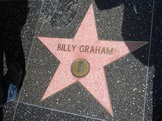 Resultado de imagen de billy graham star walk fame