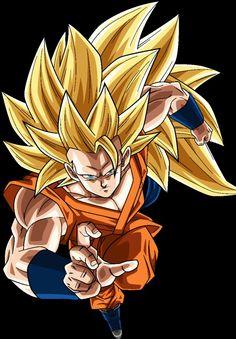 Goku SS3 - Visit now for 3D Dragon Ball Z compression shirts now on sale! #dragonball #dbz #dragonballsuper
