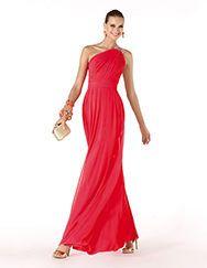Pronovias presents the Razel cocktail dress from the Cocktail 2014 collection. | Pronovias