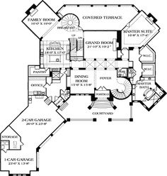 Designed to Amaze - 17703LV | 1st Floor Master Suite, Butler Walk-in Pantry, CAD Available, Courtyard, Den-Office-Library-Study, Elevator, European, Luxury, Media-Game-Home Theater, Mediterranean, Multi Stairs to 2nd Floor, PDF, Photo Gallery, Premium Collection, Tuscan | Architectural Designs