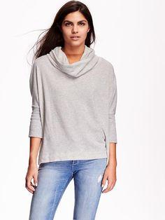 Women's Funnel-Neck Sweatshirts